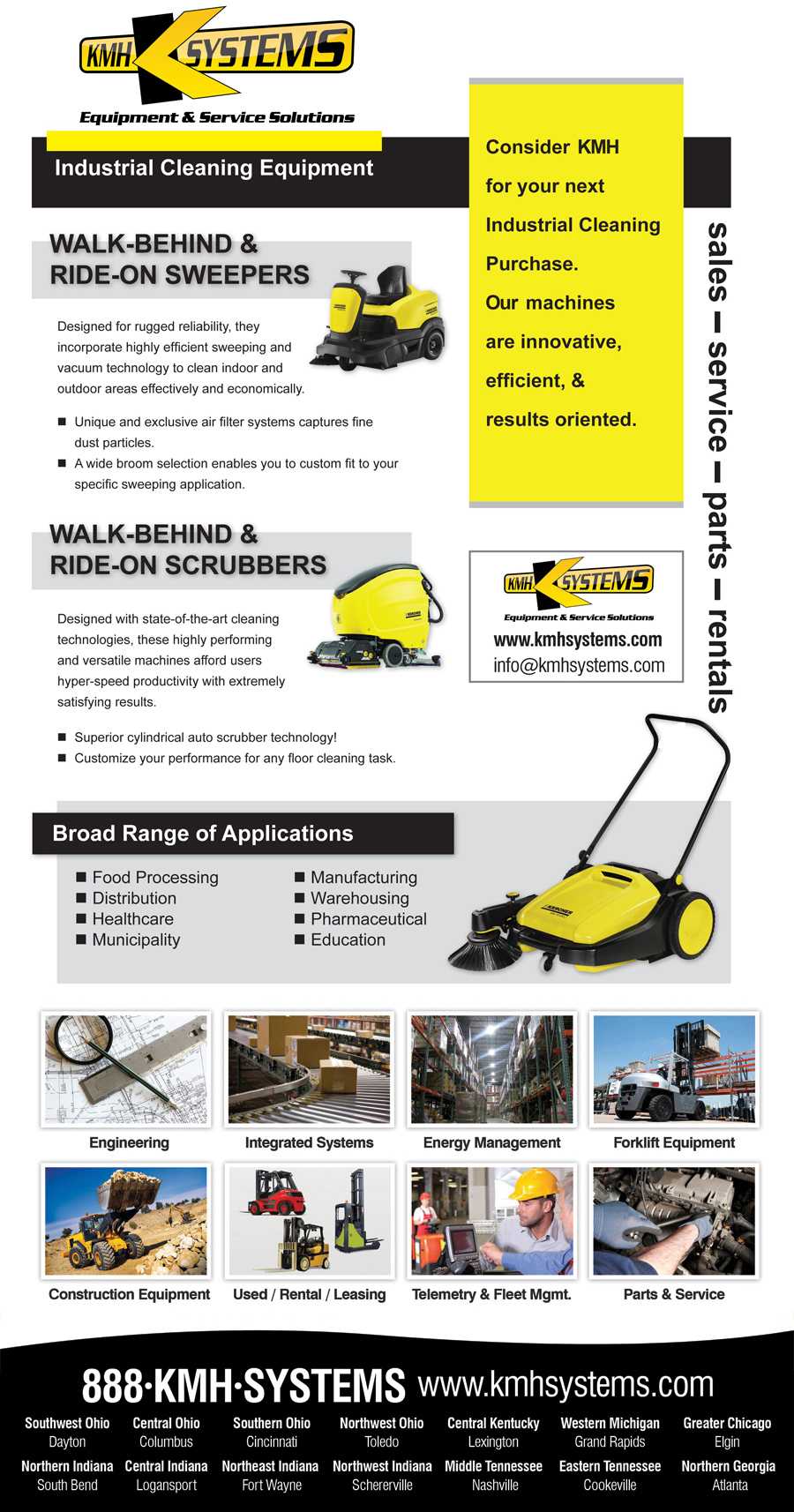 KMH Systems Cleaning Equipment