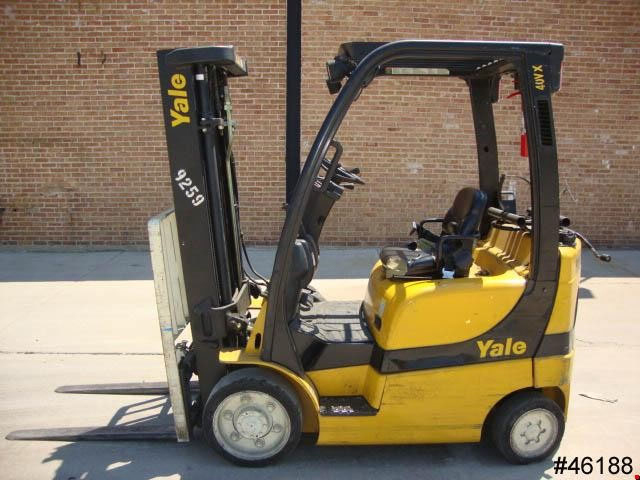 Used Yale Cushion Tire Forklift