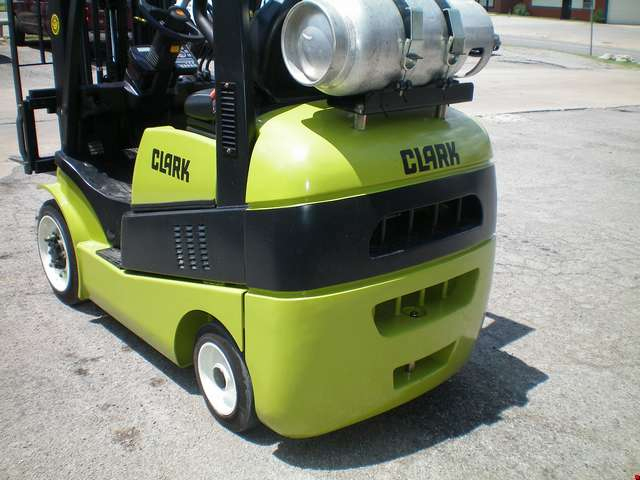 Used Clark Cushion Tire Forklift