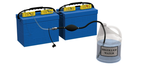Forklift Battery Watering
