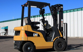 Used Pneumatic Tire Forklift