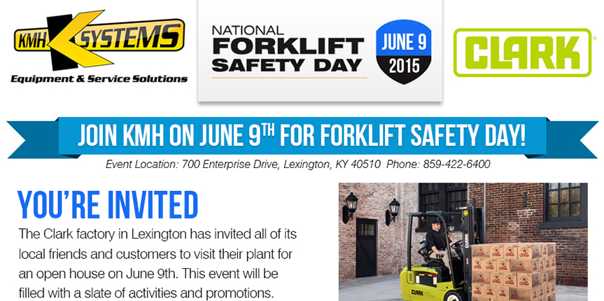 National Forklift Safety Day Event