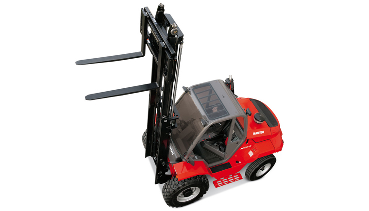 Manitou Masted Forklift Truck