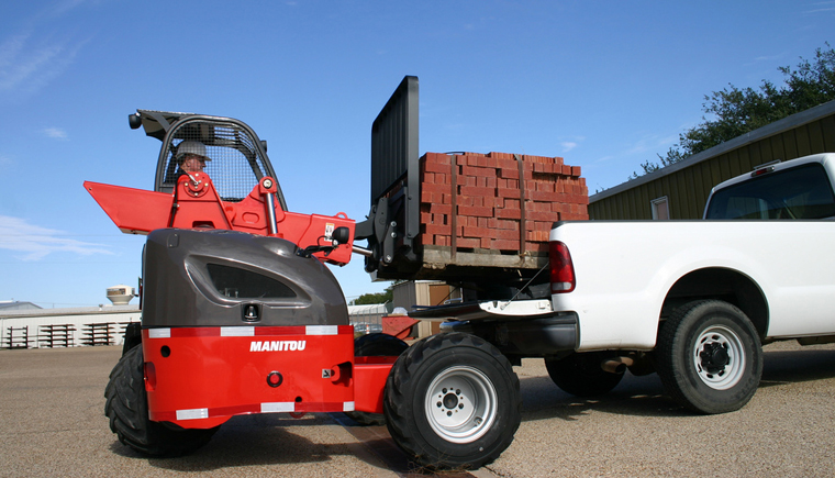 Manitou Truck Mounted Forklifts