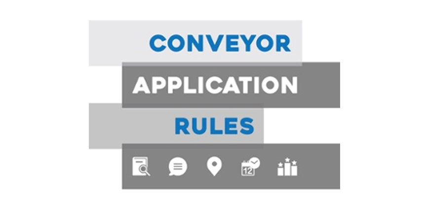 Conveyor Application Rules