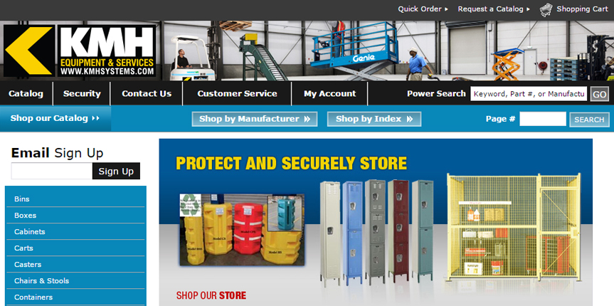 KMH Systems Online Store