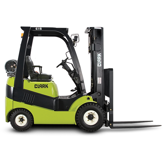 Clark Pneumatic Tire Forklifts