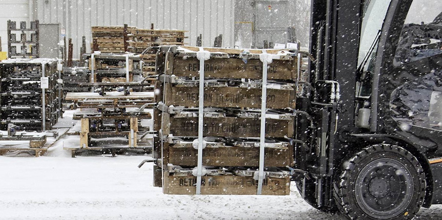 Forklift Parts for Winter