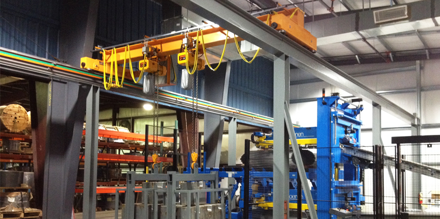 Benefits of Overhead Cranes & Hoists